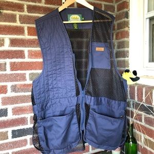 Cabela's 2XL Mesh & cotton outdoor vest EUC
